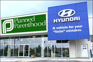 Hyundai and Planned Parenthood